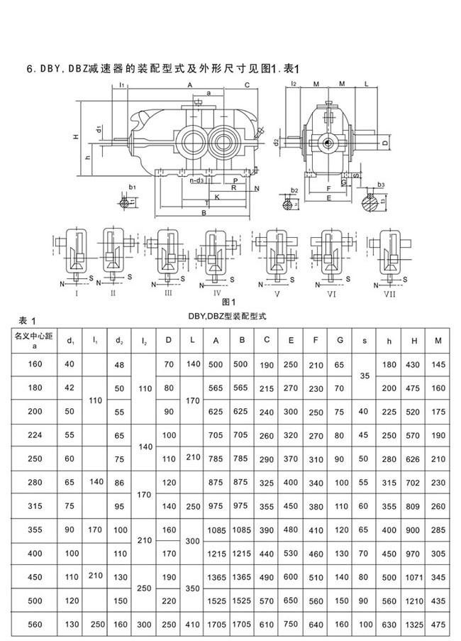 DBY系列硬齿面圆锥圆柱齿轮减速机